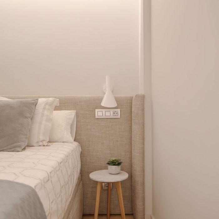Dormitorio reforma de vivienda en Santurtzi