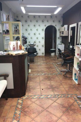 Reforma local comercial peluquería Santurtzi