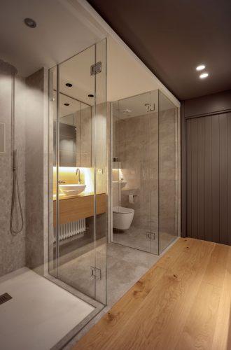Ducha baño reforma de vivienda en Santurtzi